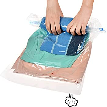 809058ba73f7 Amazon.com: GK- 10 Travel Storage Bags For Clothes Space Saver ...