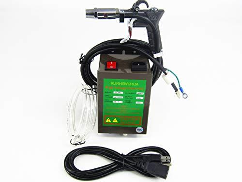 KUNHEWUHUA Antistatic Air Gun Ionizing Air Gun Electrostatic with 4.6KV High Voltage Generator 110v