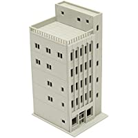 New Models Railway Modern 5-Story Commercial Building Unpainted N Scale FOR GUNDAM By KTOY