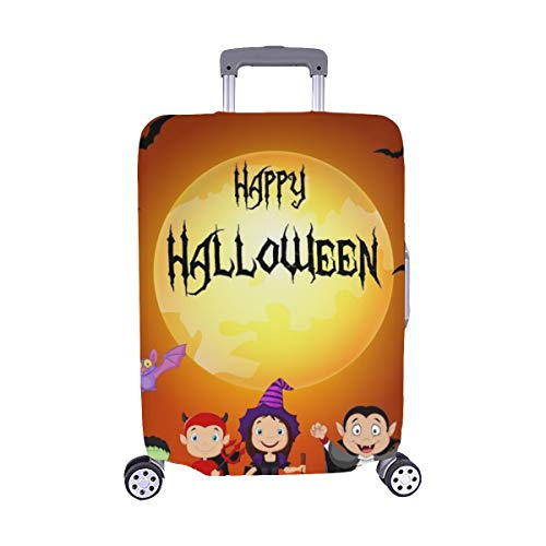 Halloween Happy Little Kids Costume Spandex Trolley Case Travel Luggage Protector Suitcase Cover 28.5 X 20.5 -