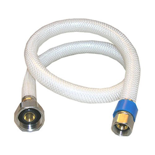 LASCO 10-2125 3/8-Inch Female Compression by 1/2-Inch Female Iron Pipe by 24-Inch Flex Braided Vinyl Water Supply
