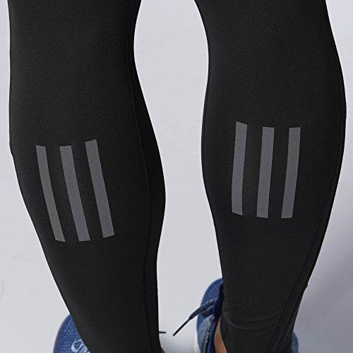 adidas Men's Running Response Long Tights, Black, Large by adidas (Image #3)