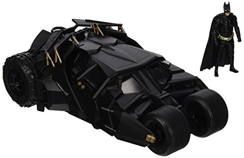 Jada Toys Boys Metals 1:24 2008 Batmobile with Figure (2 Piece) (Batman Dark Knight Toy)