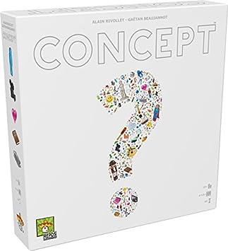 Concept Boardgame - Juego de Mesa (Asmodee ASMCONUS01) Versión en inglés: Amazon.es: Juguetes y juegos