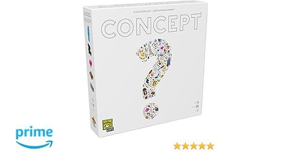 Concept Boardgame - Juego de Mesa (Asmodee ASMCONUS01) Versión en ...