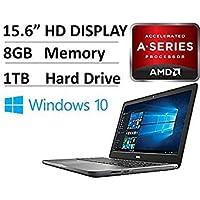 Newest Dell Inspiron 5765 FHD+ 17.3 (1600x900) 7th Generation Laptop NoteBook PC (AMD FX-9800P, 8GB Ram, 1TB HDD, AMD Radeon R7 Graphics, Camera, HDMI) Win 10 (Certified Refurbished) Numeric K.B