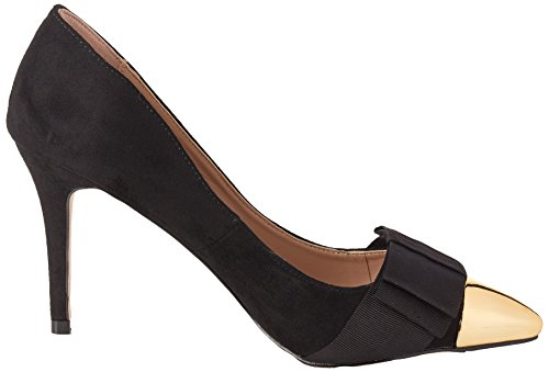 Kg Miss De Con Mujer Tacón Punta Cerrada Alyssa Schwarz Zapatos black Para F7darx7q