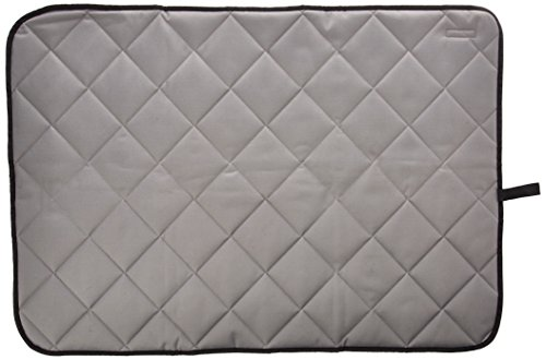 Paw Essentials PM0022-L-G 28'' x 40'' Oxford Fabric Waterproof Pet/Dog/Cat Mat for Home, Car, Outdoors - (Color Grey, Size: Large) by Paw Essentials