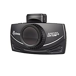 DOD TECH DOD-LS470W+ LS Sony Exmor Powered Full HD Dash Camera & GPS Logging with Polarizing Filter