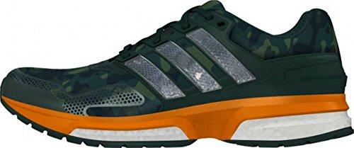 adidas Response 2 Graphic, Scarpe da Corsa Uomo Multicolore (Gris / Naranja / Negro (Vermin / Eqtnar / Negbas))
