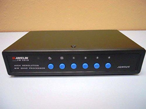 Javelin Electronics B/W Quad Processor CCTV (B&w Quad Processor)