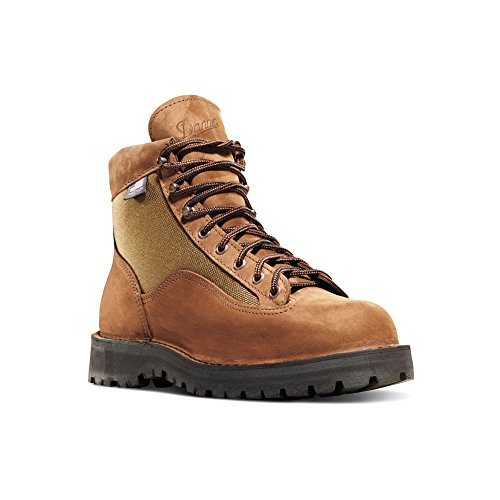 "Danner Light II 6"" Brown Nubuck Leather (33000) Outdoor Boots Waterproof 