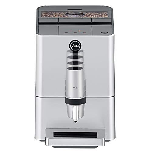 Jura 15106 ENA Micro 5 Automatic Coffee Machine, Silver (Renewed)