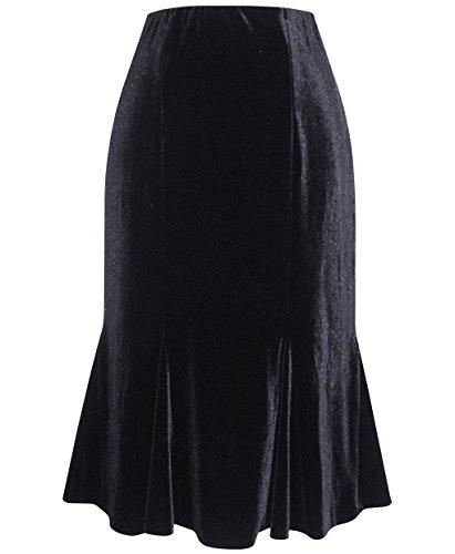 Plus Size Alex Evenings 491498 Skirt --Size: 2x Color: Black