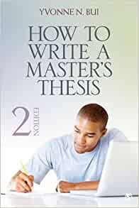How to write a masters thesis
