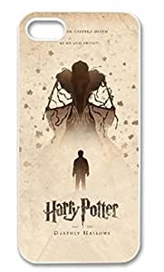 SUUER Custom Harry Potter Skin Personalized Custom Hard CASE for iPhone 4 4s Durable Case Cover hjbrhga1544