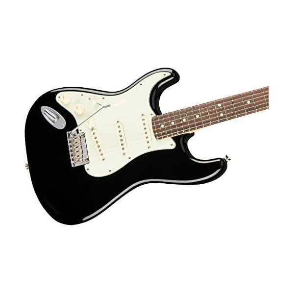 American Professional Stratocaster Lefthand RW Black