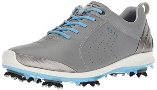 ECCO Women's BOIM G 2 Free Golf Shoe, Wild Dove/Sky Blue, 36 EU/5-5.5 M US