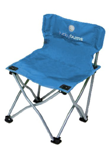 Lucky Bums Quick Camp Chair, Blue