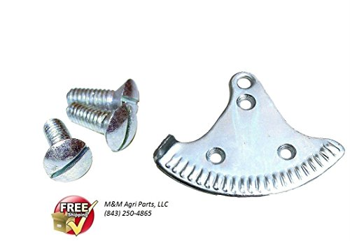 THROTTLE CONTROL QUADRANT PLATE & SCREW SET FORD 8N TRACTOR 8N9889A - NEW from Authorized Dealer