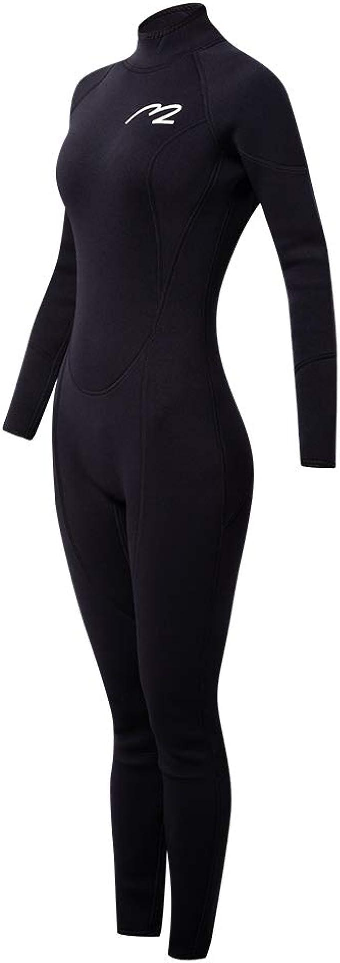 hudiemm0B Wetsuit,Men Women Full Body Diving Suit Stretch Anti-UV Swimming Surf Clothes