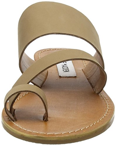 Camel Marron Sandales Steve Femme Madden 10037 Bout Shelby Flat Ouvert xBH08H1qw