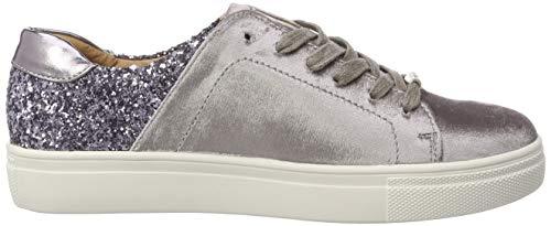 W Detail Zapatillas Multi Only Glitter Grey Gris Sneaker Mujer Onlsage Foil para qSFpZ4