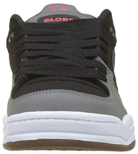 Globe Pour De Skateboard Chaussures Noir Rouge Hommes noir 10014 Agent Charbon IwPqwdt