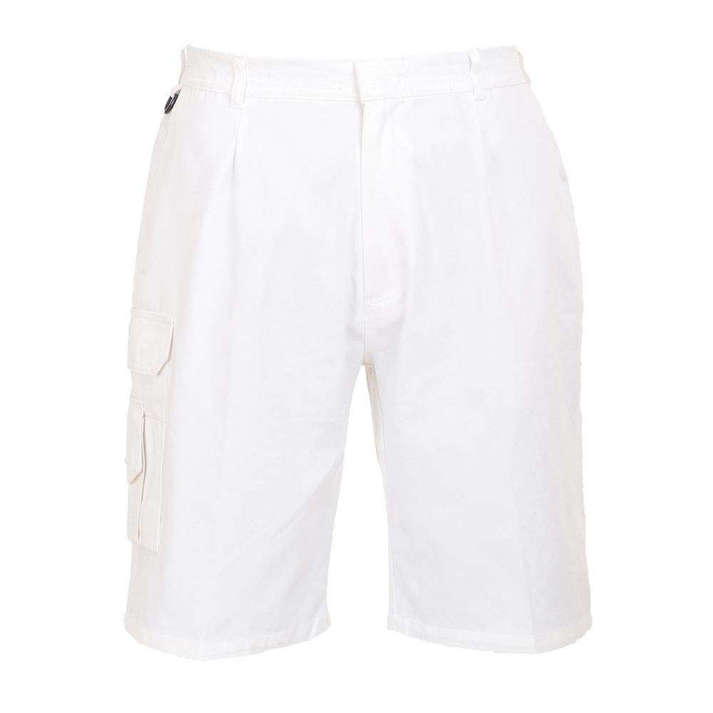 Size: Small Portwest S791WHRS Painters Short White Regular