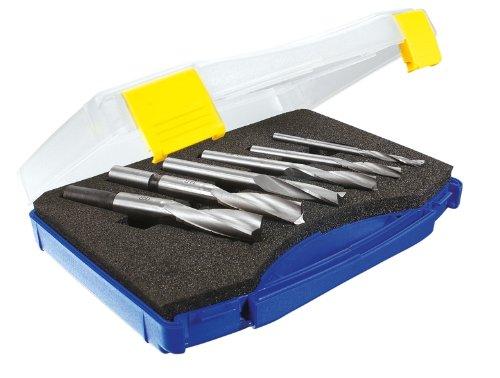 ENT Mèches à mortaiser Jeu 6 pièces WS Diamètre (D) 6-8-10-12-14-16 mm, gauche, hélicoïdale hélicoïdale ENT European Norm Tools