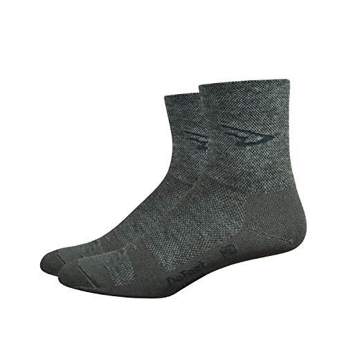 DeFeet International Wooleator 5-Inch Argyle Sock, Grey, X-Large