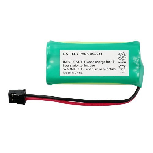 Fenzer Rechargeable Cordless Phone Battery for Uniden BT-1008 BT1008 Cordless Telephone Battery Replacement Pack, Office Central