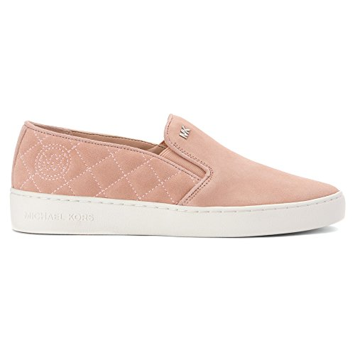 Michael Michael Kors Keaton Quilted Mujer Ante Mocasín