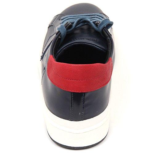 Shoe Scarpa Model rosso Philippe Uomo Blu Man Sneaker C9872 qO0pg