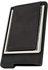 ➤ RISK-FREE: FIDELO products are backed by 1-year money back guarantee. ➤ RFID BLOCKING TECHNOLOGY:HYBRID Wallets were made from premium SIGNAL BLOCKING Aviation Grade Aluminum. Simply slide up to 5 cards in and you're PROTECTED! ➤ SIMPLE ...