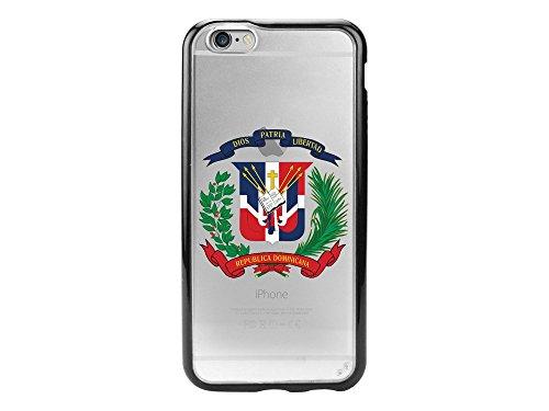 Cellet Proguard - Carcasa para iPhone 6, Bandera de República Dominicana 2/Claro, Transparente