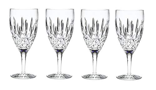 Waterford Lismore Nouveau Iced Beverage Glass, Set of 4, Clear, 14 oz (Iced Nouveau Waterford Lismore)