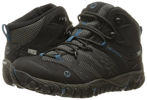 5 Merrell Mid All Hiking Black Women's Out US Boot Blaze M Waterproof Vent FF6vrw