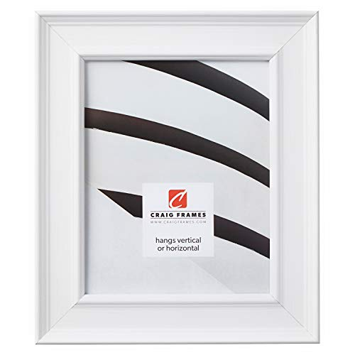 Craig Frames 76658954 20 by 24-Inch Picture Frame, Wood Composite, 2-Inch Wide, White
