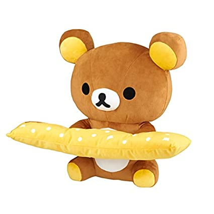 Amazon.com: Rilakkuma PC Cojín: Toys & Games