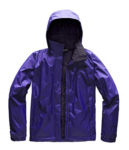 The North Face Women's Resolve 2 Jacket - Deep Blue & Galaxy Purple - S ()