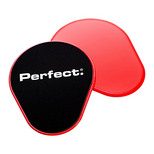 Perfect Fitness Sliders Sport Sliders Exercise Glider Discs (Pair) by Perfect Fitness