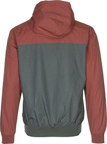 Deck Jacket Iriedaily Rosso Red Auf Grigio Anthracite Vinaccia 15qvHOgqw