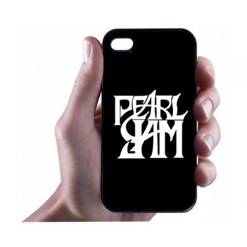 Customized iphone 4 case,Pearl Jam Rock Bands iPhone 4/4s Case - Hard Plastic Cell Phone Case,BUY IT NOW!