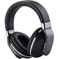 JBUNION Bluetooth Headphones over Ear with Mic, Decent Stereo Folding Wireless Headset, Wired and Wireless Headphones with Big Noise Isolation Memory-Protein Earmuffs for Cell Phone/TV/PC