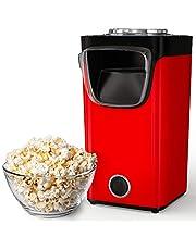 Gadgy Hetelucht Popcornmachine | Popcorn Maker voor Zoete & Zoute Popcorn | Klaar In 3 Minuten | 60 Gram Popcorn | Inclusief Maatschepje