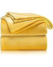 Bedsure mystäcke, gosig filt, fluffig filt, extra mjuk och varm filt i vardagsrum, flanell, fleecefilt, skynkelresistent, missfärgar inte, som soffpläd eller överkast