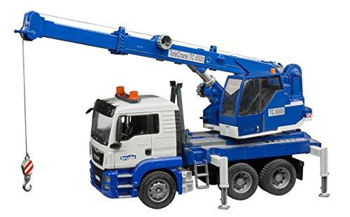 Man Crane Truck - 4