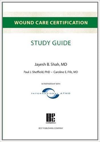 wound care certification study guide: 9781930536616: medicine ...