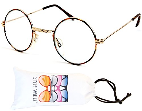 Kd244-vp 'Kids Child 1~12yr Old' Tiny Round Lennon Sunglasses (B1855F 3~12yrs (Baby Harry Potter Glasses)